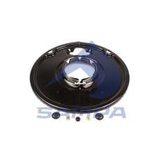 Захист барабану гальмівного SAF SKRS/SKRZ (Sampa)