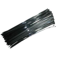 Хомут стяжний пластиковий L350MM H4.8 mm (Чорний) (Intertool)
