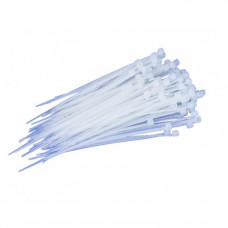 Хомут стяжний пластиковий L300MM H7.6 mm (Білий) (ДК (Дорожня Карта))
